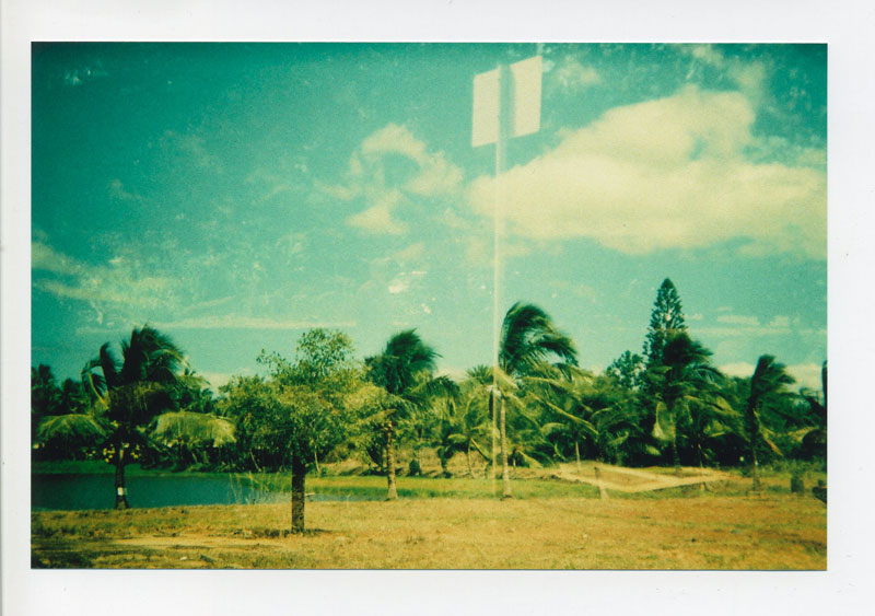 Haleiwa, North Shore - double exposed. © 2010 Bobby Asato