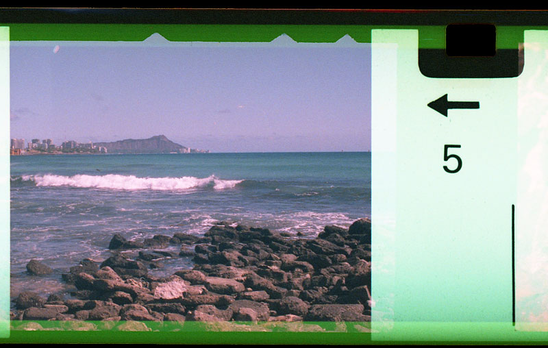 Another view of Diamond Head, Sand Island. © 2010 Bobby Asato