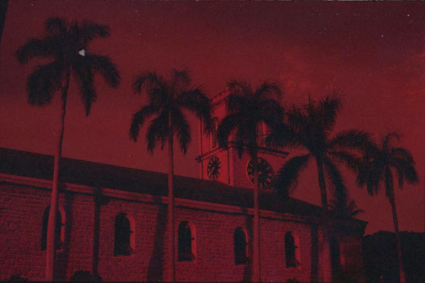 Kawaihao Church, Hawaii. Canon A-1. © 2011 Bobby Asato