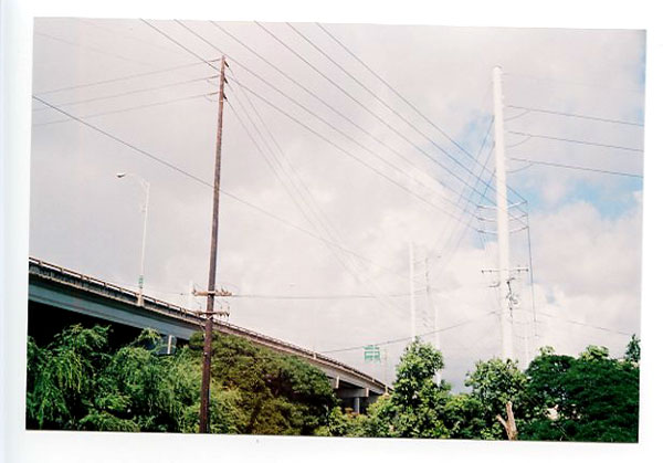 Lehua Bike Path, Pearl City, Hawaii.  Yashica Minimatic EL © 2011 Bobby Asato