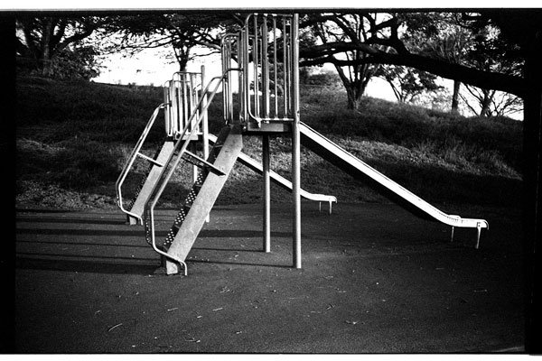 Pearl City Highlands Elementary School, Pearl City, Hawaii. Lomo LC-A+. © 2011 Bobby Asato