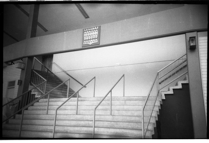 Blaisedel Center, Hawaii. Lomo LC-A+. © 2011 Bobby Asato