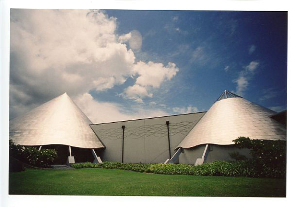 Imiloa Space Center, Big Island, Hawaii. Canon A-1. © 2011 Bobby Asato