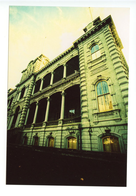 Iolani Palace, Honolulu, Hawaii. Canon A-1. © 2011 Bobby Asato