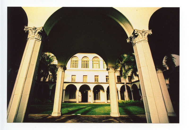 King David Kalakaua Building, Honolulu, Hawaii. Canon A-1. © 2011 Bobby Asato