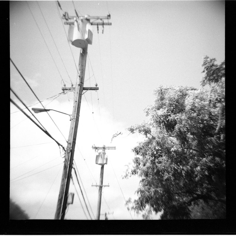 Makiki Heights, Honolulu, Hawaii. Diana F+. © 2011 Bobby Asato