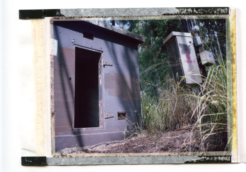 Honolulu, Hawaii. Polaroid Land 100. © 2011 Bobby Asato.