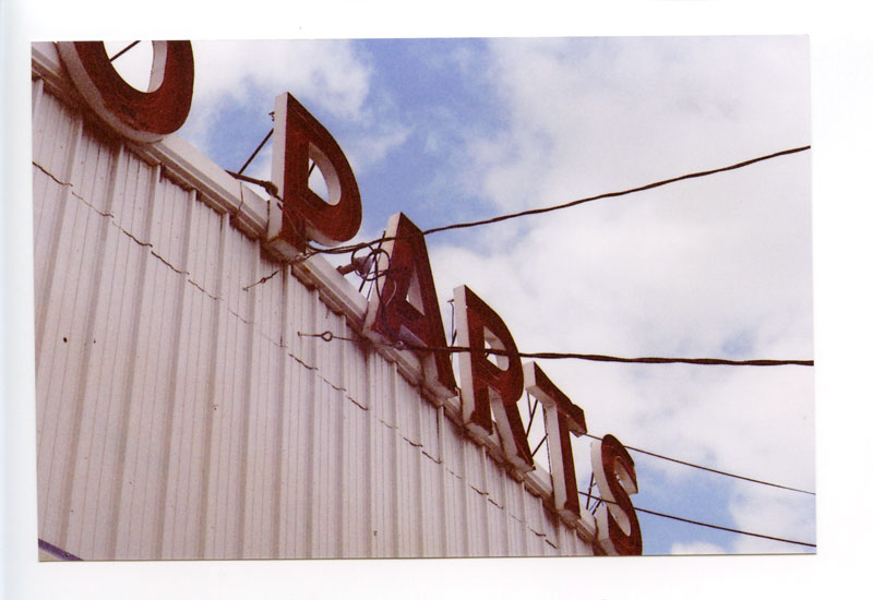 Auto Parts, Kailua, Hawaii. Canon F-1 original © 2012 Bobby Asato