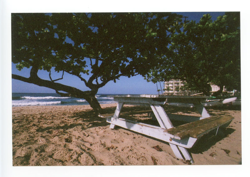Makaha Beach, Hawaii. Canon F-1 original © 2012 Bobby Asato