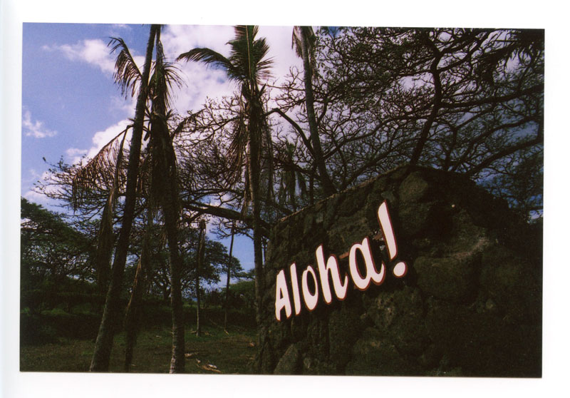 Makaha Resort, Hawaii. Canon F-1 original © 2012 Bobby Asato