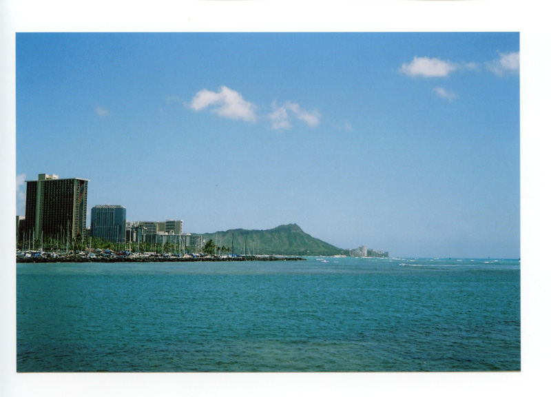 Magic Island, Ala Moana Beach Park, Hawaii. Yashica Electro 35 GX © 2012 Bobby Asato