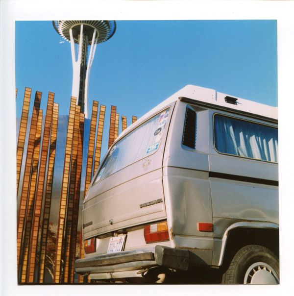 Space Needle, Seattle. Lomo Lubitel 166++ © 2012 Bobby Asato