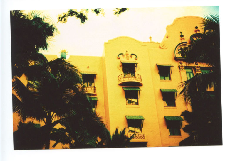 The Royal Hawaiian Hotel, Waikiki, Hawaii.  Voigtlander Bessa R2 © 2013 Bobby Asato