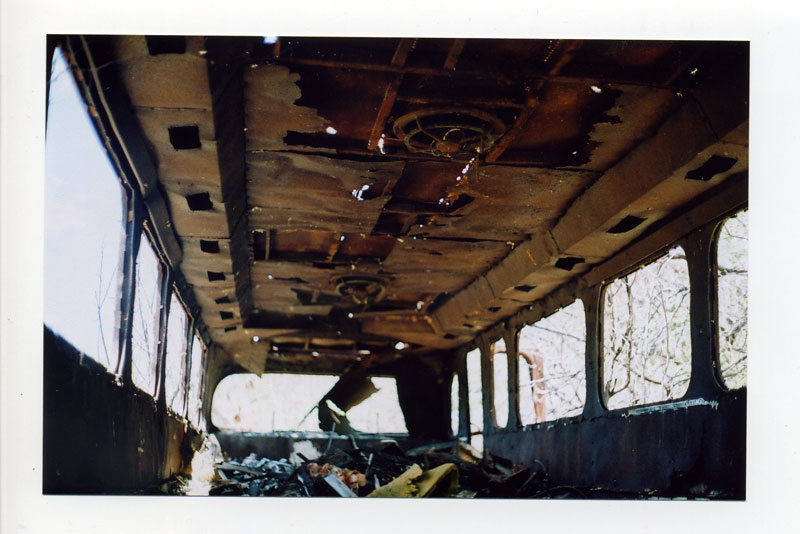 Abandoned bus in Waianae Valley. ©2010 Bobby Asato